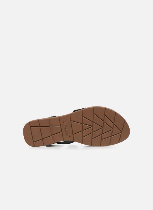 Sandales et nu-pieds Chattawak PENSEE Noir vue haut