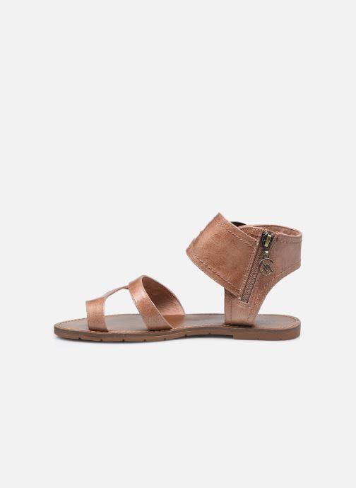 Sandales et nu-pieds Chattawak PENSEE Marron vue face