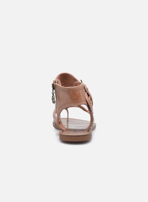 Sandales et nu-pieds Chattawak PENSEE Marron vue droite