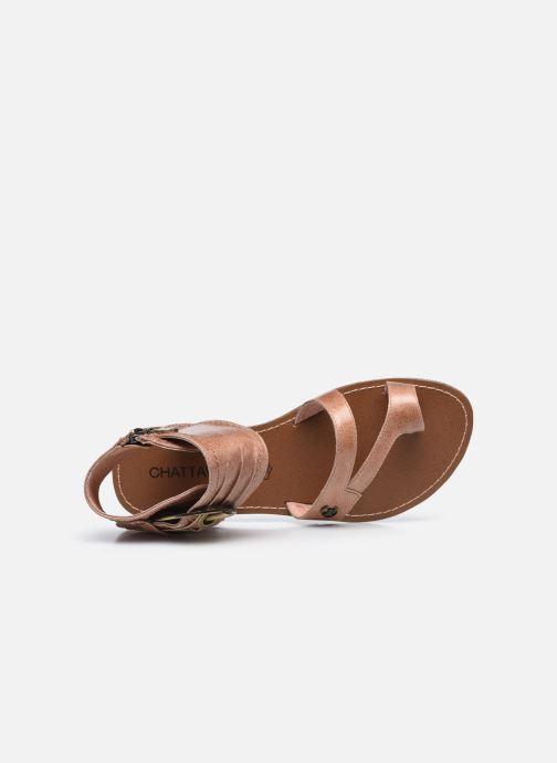 Sandales et nu-pieds Chattawak PENSEE Marron vue gauche