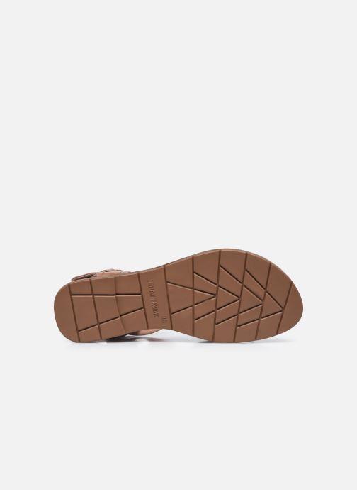 Sandales et nu-pieds Chattawak PENSEE Marron vue haut