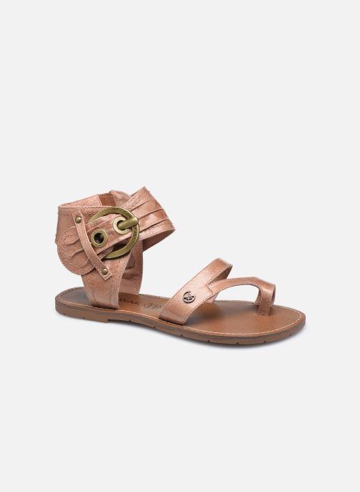 Sandales et nu-pieds Chattawak PENSEE Marron vue détail/paire