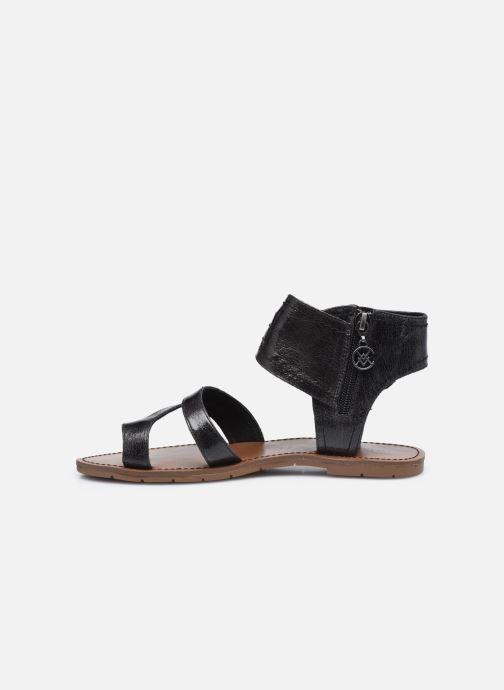 Sandales et nu-pieds Chattawak PENSEE Noir vue face