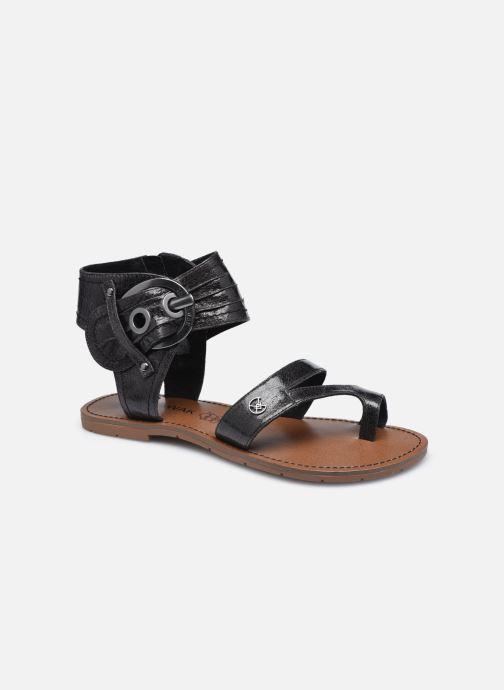 Sandales et nu-pieds Chattawak PENSEE Noir vue détail/paire