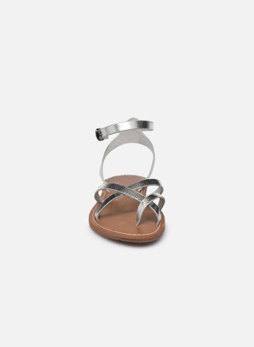 Sandales et nu-pieds Chattawak PERLA Argent vue portées chaussures