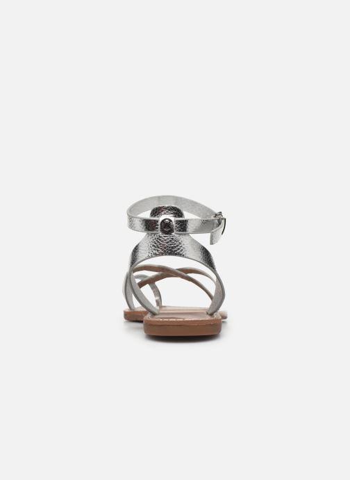 Sandales et nu-pieds Chattawak PERLA Argent vue droite