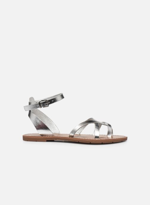 Sandales et nu-pieds Chattawak PERLA Argent vue derrière