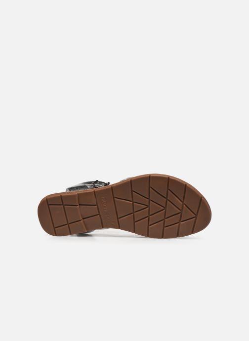 Sandales et nu-pieds Chattawak PERLA Argent vue haut