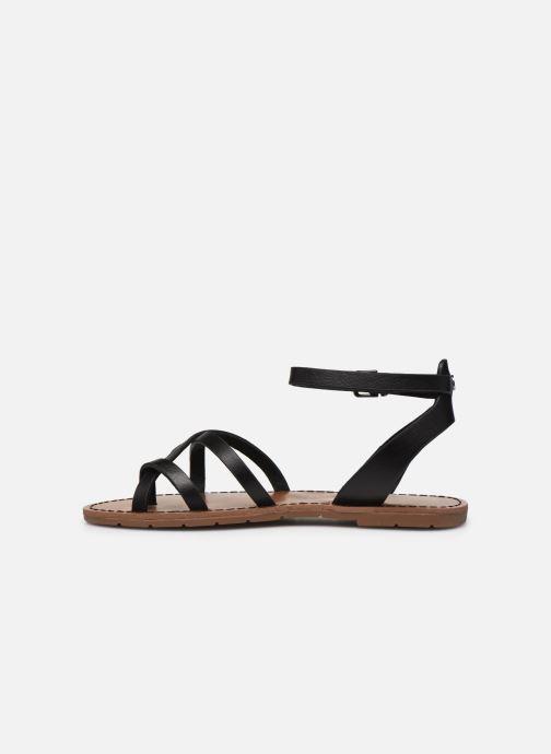 Sandalen Chattawak PERLA schwarz ansicht von vorne