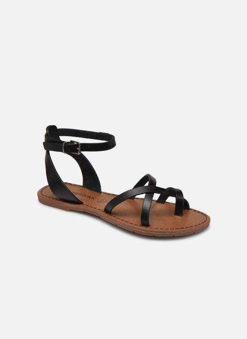 Sandales et nu-pieds Chattawak PERLA Noir vue détail/paire