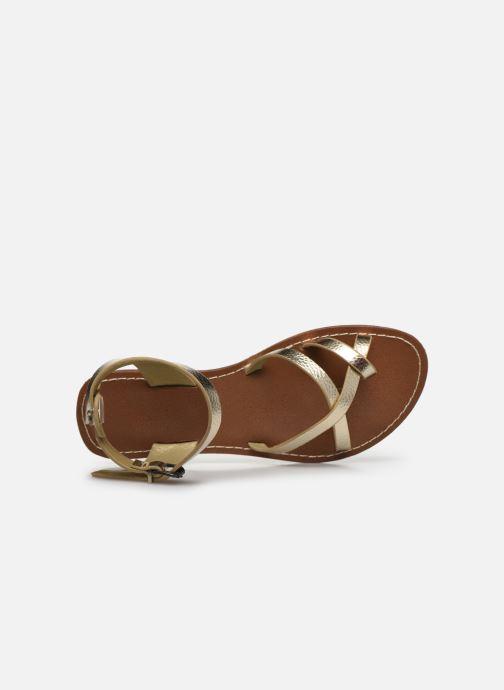 Sandali e scarpe aperte Chattawak PERLA Oro e bronzo immagine sinistra