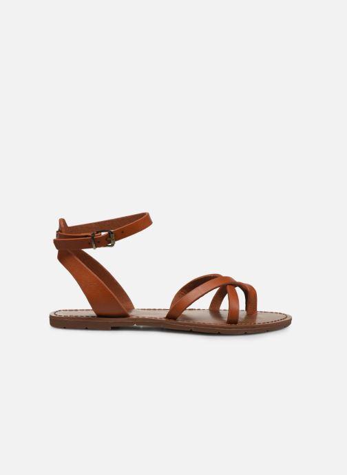 Sandales et nu-pieds Chattawak PERLA Marron vue derrière