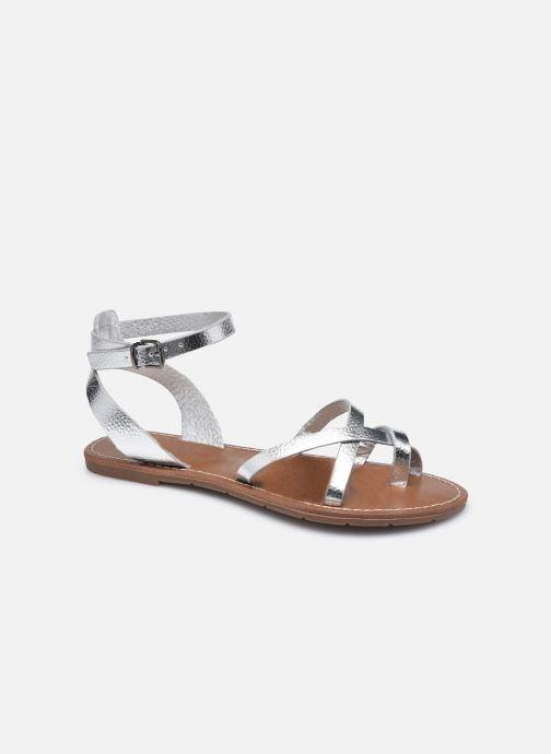 Sandales et nu-pieds Chattawak PERLA Argent vue détail/paire