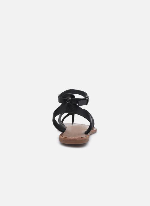 Sandales et nu-pieds Chattawak PERLA Noir vue droite