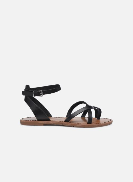 Sandales et nu-pieds Chattawak PERLA Noir vue derrière