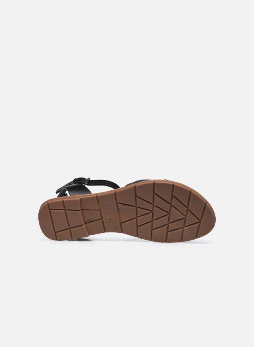 Sandales et nu-pieds Chattawak PERLA Noir vue haut