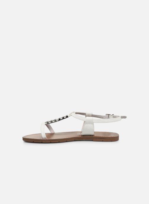 Sandales et nu-pieds Chattawak PETUNIA Blanc vue face