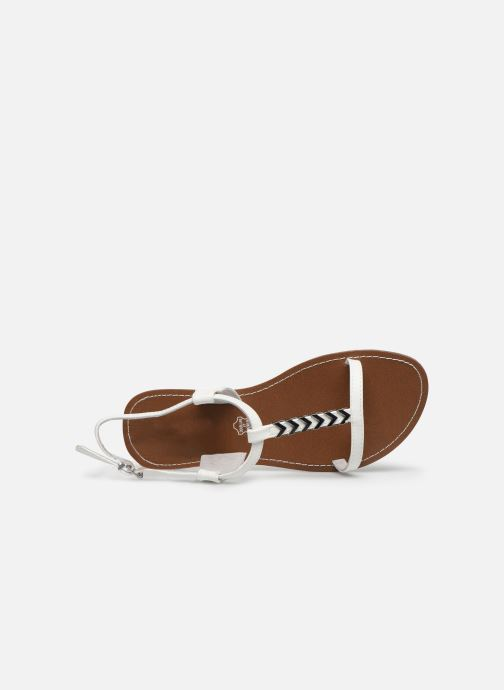Sandales et nu-pieds Chattawak PETUNIA Blanc vue gauche