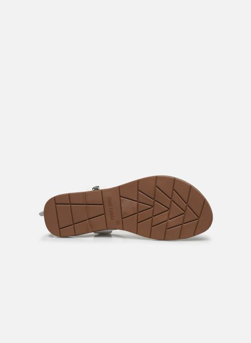Sandales et nu-pieds Chattawak PETUNIA Blanc vue haut