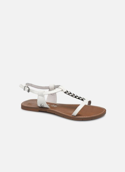 Sandales et nu-pieds Chattawak PETUNIA Blanc vue détail/paire