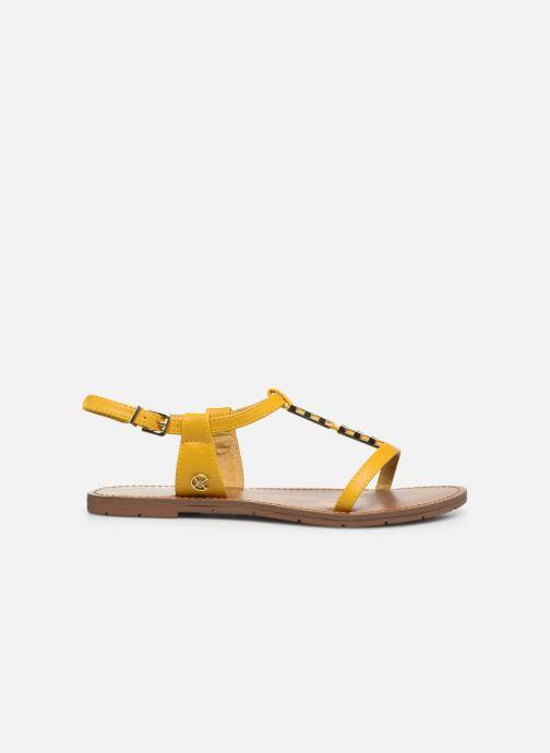 Sandales et nu-pieds Chattawak PETUNIA Jaune vue derrière