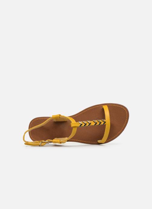 Sandales et nu-pieds Chattawak PETUNIA Jaune vue gauche