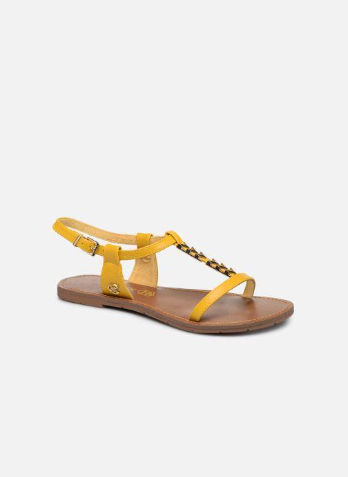 Sandales et nu-pieds Chattawak PETUNIA Jaune vue détail/paire
