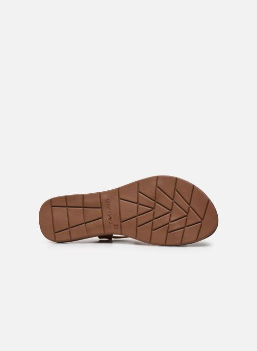 Sandales et nu-pieds Chattawak PETUNIA Marron vue haut