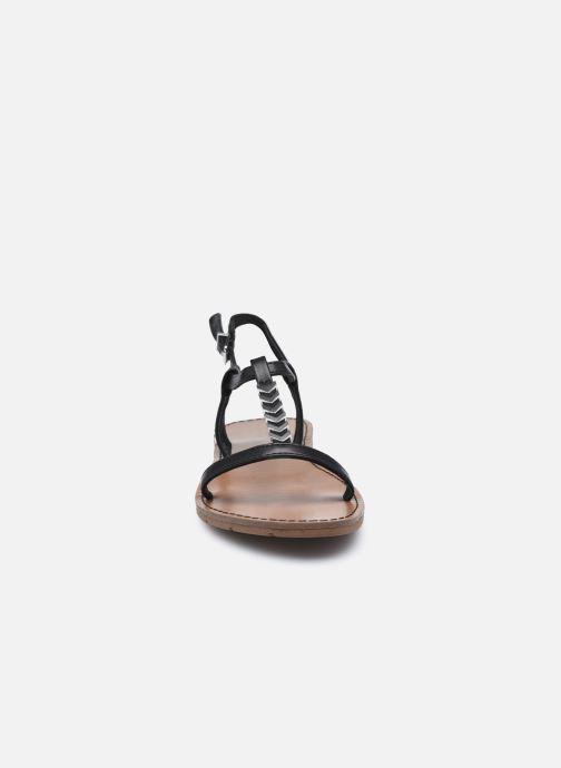 Sandales et nu-pieds Chattawak PETUNIA Noir vue portées chaussures