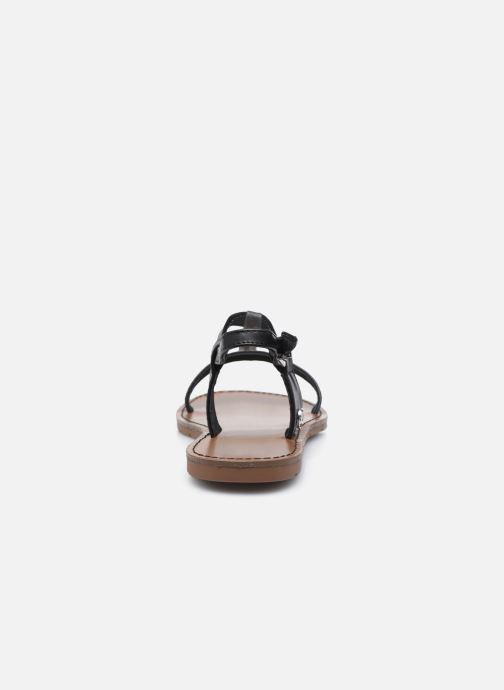 Sandales et nu-pieds Chattawak PETUNIA Noir vue droite