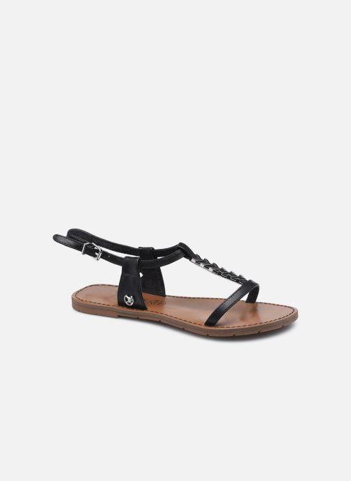 Sandales et nu-pieds Chattawak PETUNIA Noir vue détail/paire