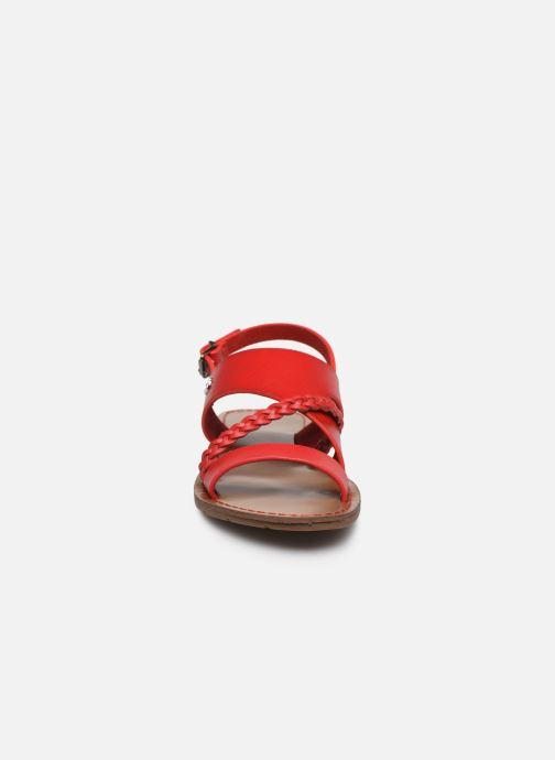 Sandales et nu-pieds Chattawak PHIBBY Rouge vue portées chaussures