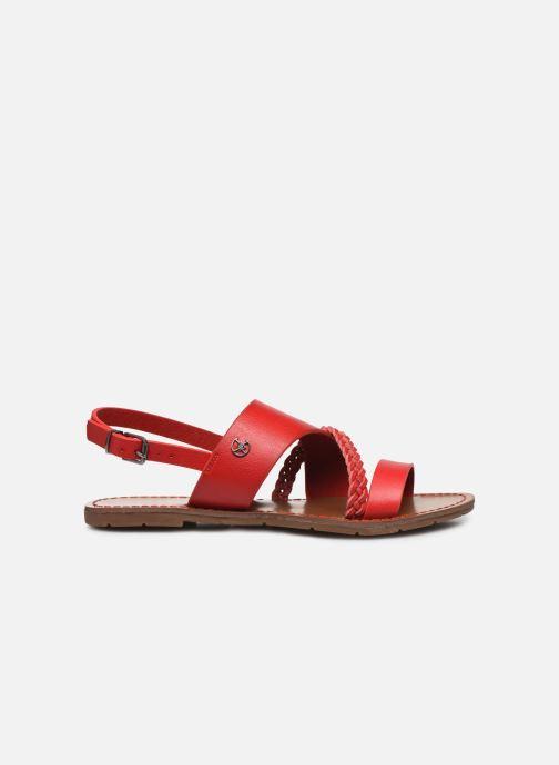 Sandales et nu-pieds Chattawak PHIBBY Rouge vue derrière