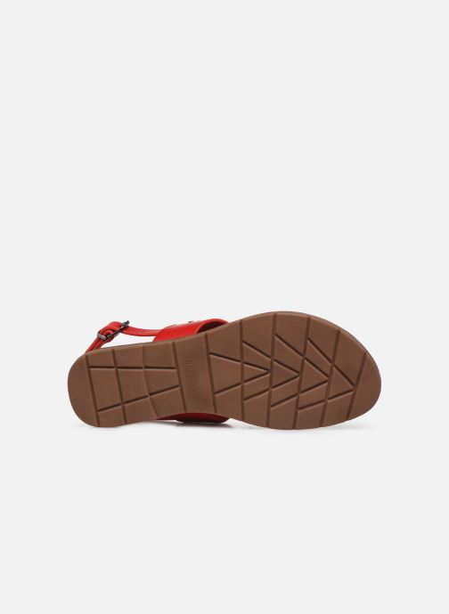 Sandales et nu-pieds Chattawak PHIBBY Rouge vue haut