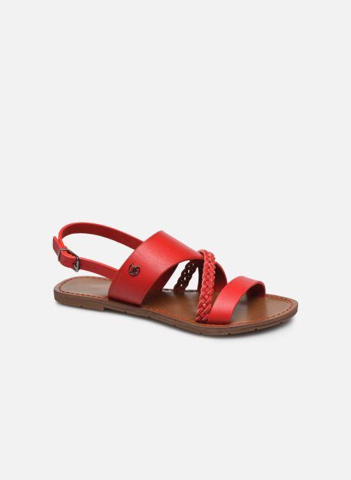 Sandales et nu-pieds Chattawak PHIBBY Rouge vue détail/paire