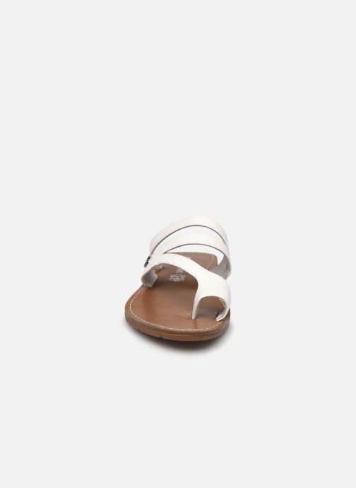 Mules et sabots Chattawak TEXANE Blanc vue portées chaussures