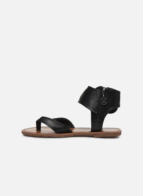 Sandales et nu-pieds Chattawak THALIE Noir vue face