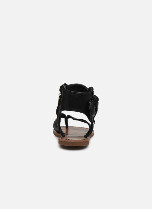 Sandales et nu-pieds Chattawak THALIE Noir vue droite