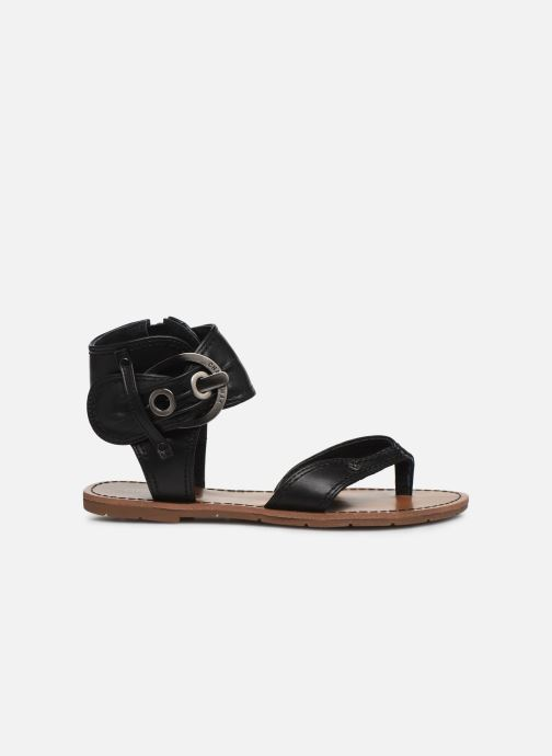 Sandales et nu-pieds Chattawak THALIE Noir vue derrière
