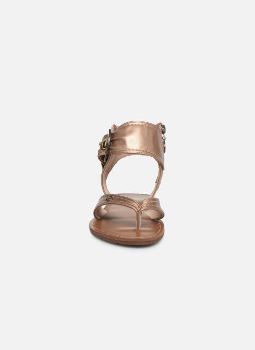 Sandales et nu-pieds Chattawak THALIE Or et bronze vue portées chaussures