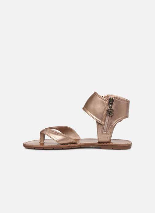 Sandales et nu-pieds Chattawak THALIE Or et bronze vue face