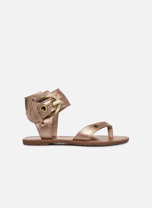 Sandales et nu-pieds Chattawak THALIE Or et bronze vue derrière
