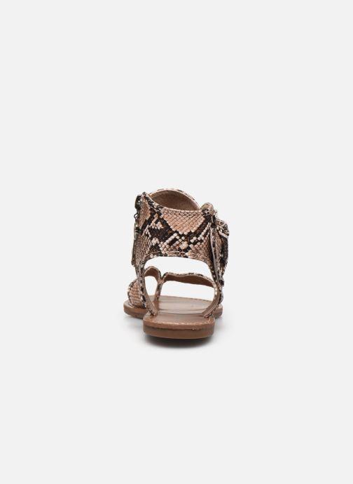 Sandali e scarpe aperte Chattawak THALIE Marrone immagine destra
