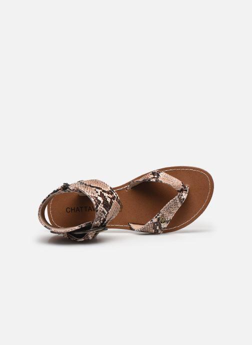 Sandali e scarpe aperte Chattawak THALIE Marrone immagine sinistra
