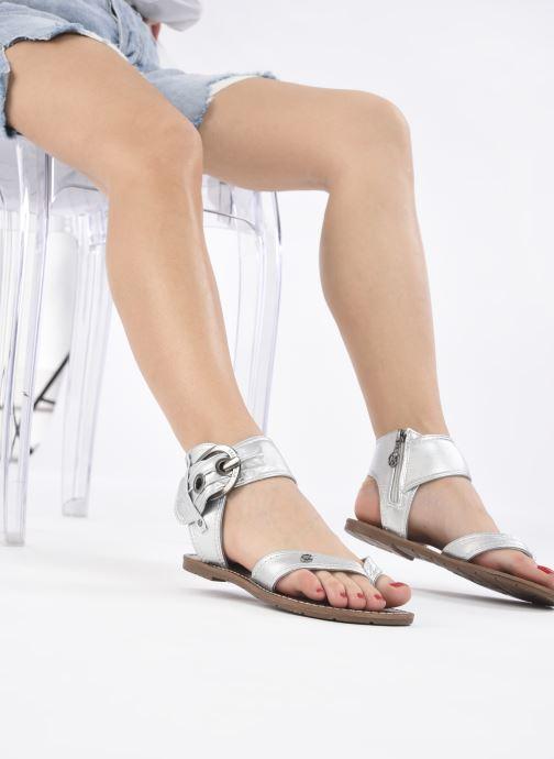 Sandali e scarpe aperte Chattawak THALIE Argento immagine dal basso