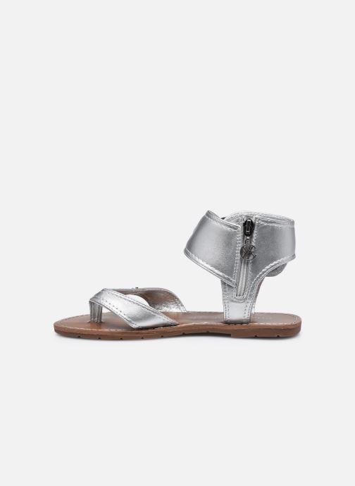 Sandali e scarpe aperte Chattawak THALIE Argento immagine frontale