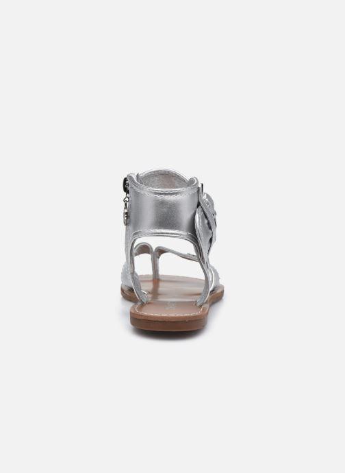 Sandali e scarpe aperte Chattawak THALIE Argento immagine destra