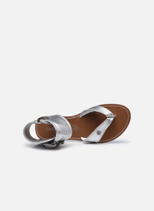 Sandali e scarpe aperte Chattawak THALIE Argento immagine sinistra