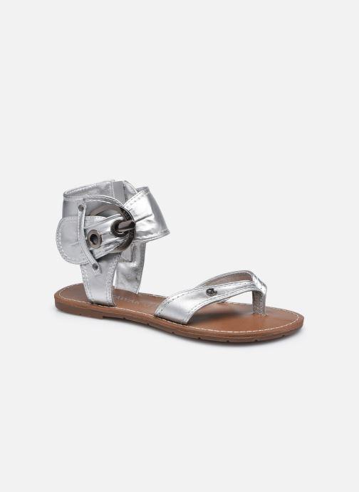 Sandales et nu-pieds Chattawak THALIE Argent vue détail/paire