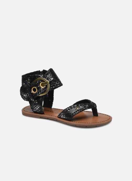 Sandalen Chattawak THALIE Zwart detail